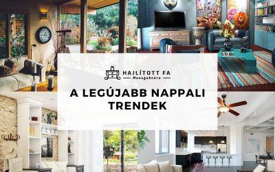 Modern nappali berendezés 2020-2021-luxus bútorok vagy minimalista design?
