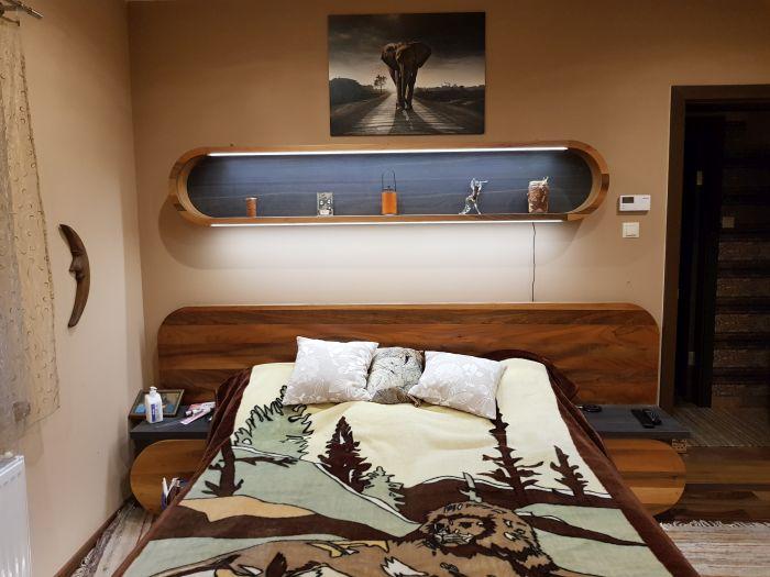 íves bútor hajlított fából