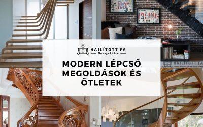Modern beltéri lépcsők, belső lépcső megoldások és ötletek: 2021-es lakberendezési design trend