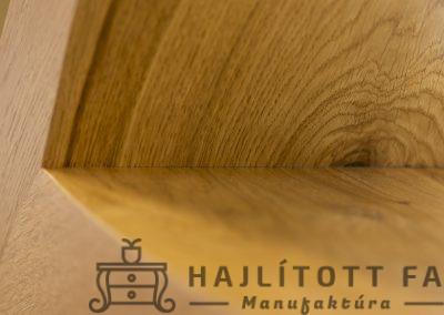 fa alakú könyvespolc